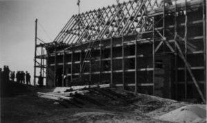 Bau der Kirche